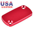 CNC Red Front Brake Reservoir Cover Cap for Honda CRF 450R 450X 450RX 250R 250X