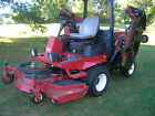 Toro 4000D 105 ft cut mower it is a 2004 with 1430 hours showing NO RESERVE