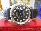Mens Vintage ROLEX Oyster Perpetual Datejust Steel & Gold Diamond Dial Watch