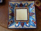 Tabletops Unlimited Toluca Pattern Square Dinner Plate 10-3/4