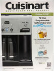 Cuisinart CHW 12 Coffee Plus 12 Cup Programmable Coffeemaker w Hot Water System