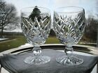 WATERFORD IRISH CRYSTAL..DONEGAL PATTERN..TWO 5 1/8