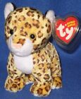 TY LEELO the LEOPARD  BEANIE BABY - MINT with MINT TAG