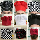 New Pleated Round Hat Chef Hat Cap Mushroom Tall Baker Cook Chefs Hat Hot