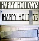 SALE Quickutz CC BDR 058 HAPPY HOLIDAYS Border Die NEW FREE SHIP Discontinued