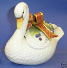 Fitz and Floyd Holiday Swan Lidded Box- New in Box-2068/104