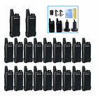 10 pairs Retevis RT22 walkie talkie 2W UHF 400-480MHz 16CH CTCSS/DCS Monitor TOT