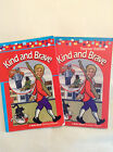 Abeka 1st grade READING Set of 2 books Kind and Brave Teacher Edition