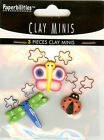 Clay Minis Fun Bugs Stickers NEW 048492968484