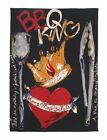 Julia Junkin BBQ King Kitchen Towel, Black/Red. Shipping is Free
