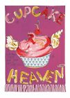 Julia Junkin Cupcake Heaven Kitchen Towel, Pink. Free Delivery