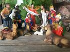 Christmas Nativity Scene Set Figures Polyresin Figurines Baby Jesus 13 PIECE SET