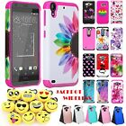 Armor Shockproof Hybrid Hard Rubber Phone Case Cover For LG X Style Tribute HD