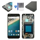 Black LCD Touch Screen Digitizer Frame Tools For LG Google Nexus 5X H790 H791