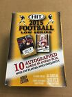 2015 Sage Hit Low Series Hobby Football Factory Sealed Hobby Box New Autographed