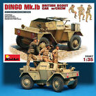 MINI ART 1 35 DINGO MK1b BRITISH SCOUT CAR WITH CREW OF 3