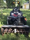 2013 Toro Groundsmaster 360 Quad Steer 172hr 4X4 72 Mid Mower 53 snowblower