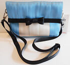 HUGE SALE NWT DISNEY COUTURE ALICE FOLDOVER GENUINE HARVEYS SEATBELT BAG