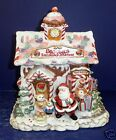 Fitz and Floyd Candy Lane Cookie Jar- New in Box-2058/236
