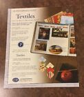 Creative Memories 10x12 Printed Photo Mounting Paper Pack Textiles Sealed