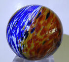#5179m Huge 1.79 Inches Vintage German Onionskin Marble *Heavily Buffed*