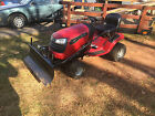 Craftsman 42 In Riding Mower With Snow Plow