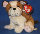 TY HUGGINS the DOG BEANIE BABY - MINT with MINT TAGS