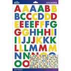 Sticko 175482 Alphabet Stickers Primary Futura Bold Large NEW