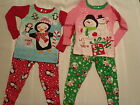 AMERICAN MARKETING Christmas 2 Piece Pajama Sleepwear Set NIP Penguin Snowman