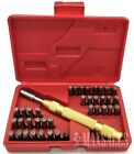 38PC LETTER NUMBER STAMPING STAMP TOOL SET KIT AUTOMATIC METAL PUNCH