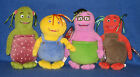 TY BOBLINS SET of 4 BEANIE BABIES - PI, GULLY, RUDDLE & YAM YAM - ALL MINT TAGS