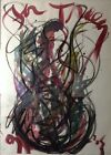 Original FOR TRACY Drawing Acrylic Painting by Dale Chihuly 1991 Framed 30x22