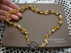 Silpada Sterling Silver Citrine Necklace  N1193  Retired! $149