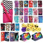 For LG Stylo 3 3 Plus Premium Leather Wallet Case Pouch Flip Phone Cover