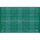 24 x 36 GREEN BLACK Self Healing 5 Ply Double Sided Durable PVC Cutting Mat