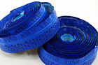 Fizik Road Bike Bar Tape Performance Tacky Blue 3mm w Logos
