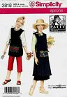 Simplicity 3818 Patty Reed Aprons Sewing Pattern Size XS XL NEW OOP