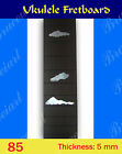 Free Shipping Ukulele Part Slotted Rosewood Fretboard w Mop Art Inlay 85 1