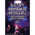 ACDC / MOTORHEAD / METALLICA - ULTIMATE METAL REVIEW - 3 DVD SET - SEALED