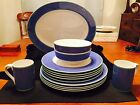 Fitz & Floyd Correlations in Blue - Set of 14 Pieces