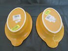 Set of 2 Brand New w/Tags Fiestaware Retired Marigold Individual Casserole Baker