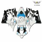 White Blue Injection Fairing Fit for Honda 2007 2008 CBR600RR Plastic ABS mB5
