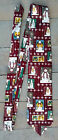 Holiday Christmas Tie By Debbie Mumm Featuring Snowman Family 100% Silk USA