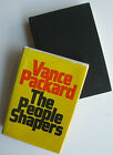 PEOPLE SHAPERS BY Vance PACKARD 1977 SIGNED by author hardcover with jacket fine