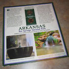 Arkansas Hot Springs National Park 2010 P  D Quarters on Card w Postage Stamps