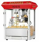 Superior Popcorn 4625 Hot and Fresh Countertop Style Popper Machine 8 oz Red