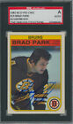 1982-83 O-PEE-CHEE - BRAD PARK #19 SGC AUTHENTIC AUTOGRAPHED SLABBED