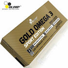 GOLD OMEGA 3 120 CAPSULES - 4 MONTHS SUPPLY - BARGAIN OFFER FISH OIL FATTY ACIDS