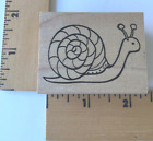 New Outlines Rubber Stamp Snail C1184 NEW