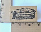 Remarkable Rubber Stamps Sofa Couch RETIRED NEW